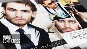Comp Cards for Models & Actors